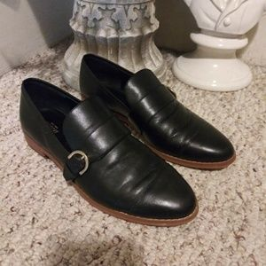 Like New Kate Spade Saturday Blk Leather Loafers
